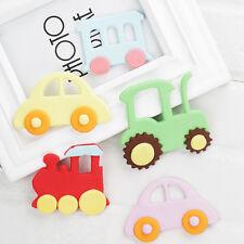 4Pcs Train Car Plastic Cookies Cutter Fondant Cake Decorating Sugarcraft Mould