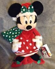 Disney Store Christmas Minnie Mouse Stocking, New With Tags, Rare