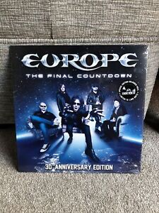 Europe The Final Countdown 30th anniversary ltd 1000 copies Blue vinyl rsd 2016