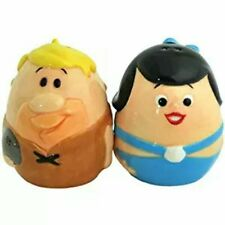 Westland Giftware The Flintstones Barney and Betty Egg Salt and Pepper Shakers