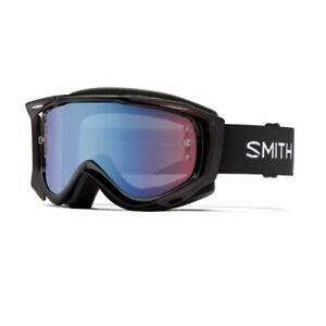 Smith Fuel V.2 MTB Cycling Goggle w/ Blue ChromaPop Lens-Bonus Clear lens