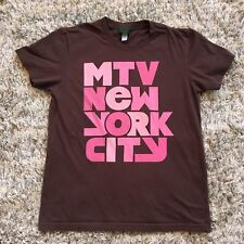MTV Store MTV NEW YORK CITY T-Shirt SIZE XL Womens Juniors