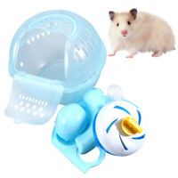 1pc Hamster Cage Portable Plastic Handle Hamster Outdoor Carrier for Guinea Pig