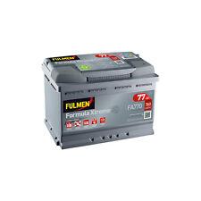 Batterie renault Fulmen FA770 12v 77ah 760A 278x175x190mm varta E44