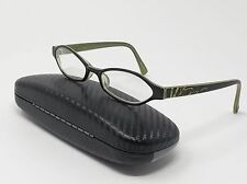 Salsa Eyeglass Frames SA515 Green Black Plastic Full Rim 50[]17-140