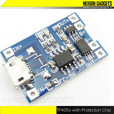 Micro USB Lithium Battery Charger TP4056 Li Ion LiPo 5V 1A with Protection Chip