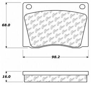 Disc Brake Pad Set-C-TEK Metallic Brake Pads-Preferred Front Centric 102.00040