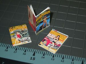 1/10 Scale Lowrider Magazines set #2 - 3 Issues - perfect for RedCat  RC Car