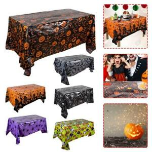 Halloween theme tablecloth background wall cloth party event decoration130*220cm