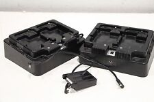 Lot of (2) Industrial Scientific Dual Rate Battery Charger 1810-2255 1810-2558