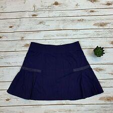 Athleta Womens Skort Purple Any Sport Skirt Pleated Stretch Fitness Size Medium