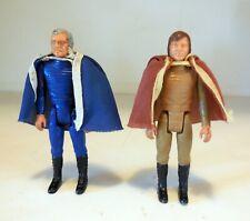 1978 Battlestar Galactica Commander Adama & Lt. Starbuck Lot of 2