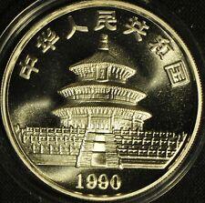 China 1990 Silver Panda