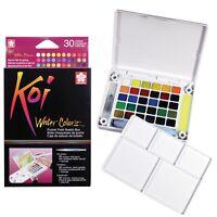 Sakura Koi Water Color Field Sketch Travel Kit XNCW-30N Drawing Art | 30 Colours