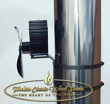 """Heat powered Flue/ chimney Eco fan wood fired stove 6"""" (150mm)"""