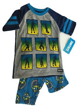 Akyzic Boys Space Pajamas Long Sleeve Kids Planets Solar System PJs Cotton Toddler Clothing Sets Size 2 to 10 Years