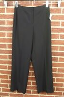 NEW Talbots Womens Pants Size 6 Slacks Black Slacks NWT Dress Career work