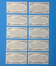 2017 Topps  Allen & Ginter MINI . Complete  set .  CONSTELLATIONS   . 10 cards