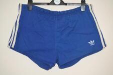 De Colección Adidas 100% Algodón Pantalones Cortos Azul Sprinter para hombre 7 XXL Hecho en Alemania Occidental