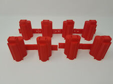 8 Pack 3D Printed Wall Mounted Tool Holder Made for Milwaukee M12 RED
