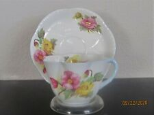 Shelley Dainty Demitasse Cup & Saucer - Begonia 13427