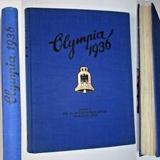 OLYMPIA 1936, Band II OLYMMMPISCHEN SPIELE IN BERLIN , RAR !!!