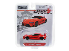 "TOYOTA FT-1 CONCEPT RED ""JDM TUNERS"" 1/64 DIECAST MODEL CAR BY JADA 14036"
