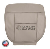 2004 Ford F150 Lariat Passenger Side Bottom Leather Replacement Seat Cover Tan