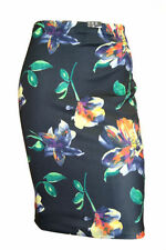 Knee Length Straight, Pencil Floral Skirts for Women