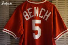 Johnny Bench Baseball Batteur 1983 Mitchell and Ness Jersey Cincinnati Reds