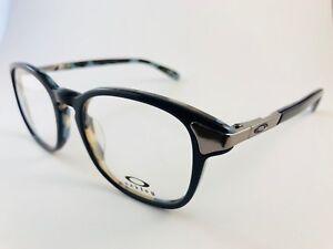 New Authentic OAKLEY Eyeglasses OX 1107 0348 Mislead blue mosaic w pouch