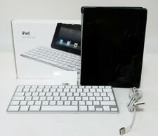 More details for bundled apple ipad 2 model a1395 16gb + charger & ipad keyboard dock with box