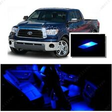 For Toyota Tundra 2007-2016 Blue LED Interior Kit + Blue License Light LED