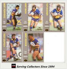 1994 Dynamic Rugby League The Masters Parramatta Eels Team Set(5)
