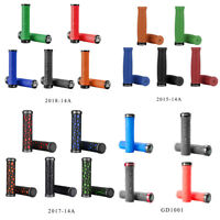 ROCKBROS MTB Bicycle Rubber Cycling Grips Handlebar Lock-on Fixed Gear Grips