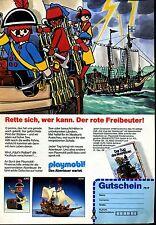 Playmobil-- Der rote Freibeuter -Werbung von 1986--