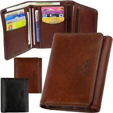 Tony Perotti Men's Rfid Purse, Zip Coin Pocket, Purse Wallet