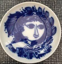 Bjorn Wiinblad Rosenthal Porcelain Dish 1960's Rare Vintage Retro Mid Century