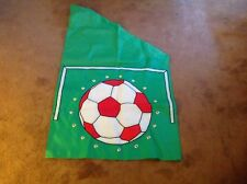 New listing Unique Red, White & Green Heavy Nylon Soccer Ball Sport Game House Flag