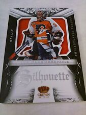 John Vanbiesbrouck 2012-13 Rookie Anthology Crown Royale Silhouette Relic