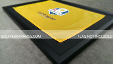 17x23 Black Flag Frame, blk-001, holds 14x20 US Open, PGA Golf Flags not incl
