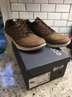 New!  ECCO Exceed Trainer Shoe. EU 44. US 10-10.5.  Birch Brown Yak Leather.