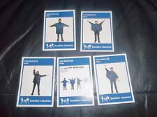 """THE BEATLES HELP ! """"BEATLES CLASSIC"""" TRADING CARDS  FULL SET  OF 5 CARDS FAB!"""