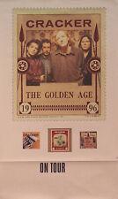 Cracker 1996 The Golden Age Tour Original Promo Poster