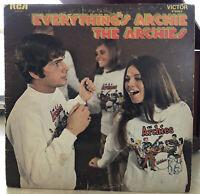 The Archies Everything's Archie (1969) Vinyl LP Album Record KES-103