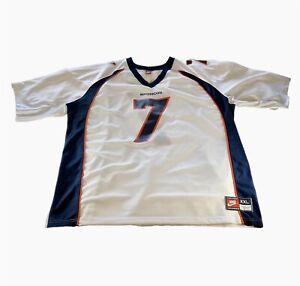Vintage Denver Broncos John Elway #7 XXL 2XL Jersey Nike Team Sports NFL