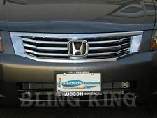 Honda Accord chrome grille grill insert trim 08 09 2010 4dr sedan