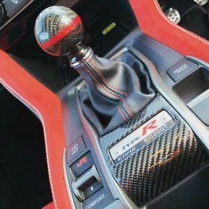 Civic FK8 Type R Carbon fibre Number Surround Gear panel FK8r fiber