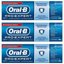 Oral B Pro Expert Professional Toothpaste Clean Mint 75ml, 3 Pack