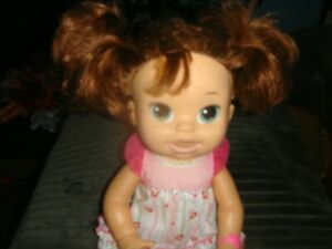 ~BABY ALIVE INTERACTIVE DOLL....12.99